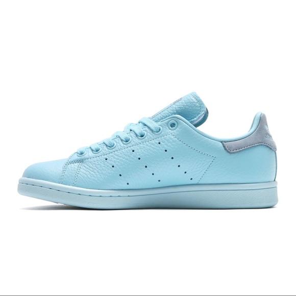 094f9bc0 adidas Shoes | Stan Smith Pharrell Hue Ice Blue | Poshmark
